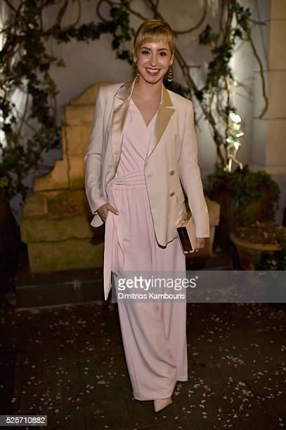 Jazmin Grace Grimaldi attends The Cinema Society With Lands' End screening of Open Road Films' 'Mother's Day' after party at Ladur��e Soho on April...