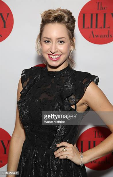 Jazmin Grace Grimaldi attends The Lilly Awards Broadway Cabaret at the Cutting Room on October 17 2016 in New York City