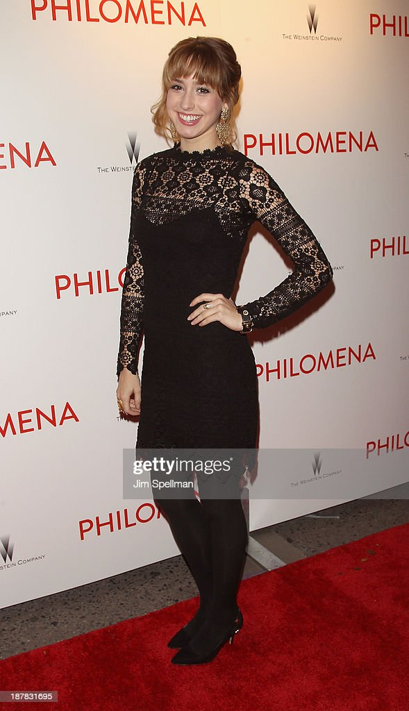 Jazmin Grace Grimaldi attends the premiere of 'Philomena' hosted by The Weinstein Company at Paris Theater on November 12, 2013 in New York City.