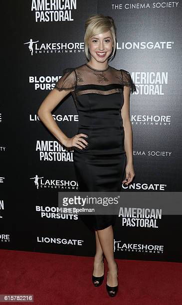 Jazmin Grace Grimaldi attends the screening Of 'American Pastoral' hosted by Lionsgate and Lakeshore Entertainment with Bloomberg Pursuits at Museum...