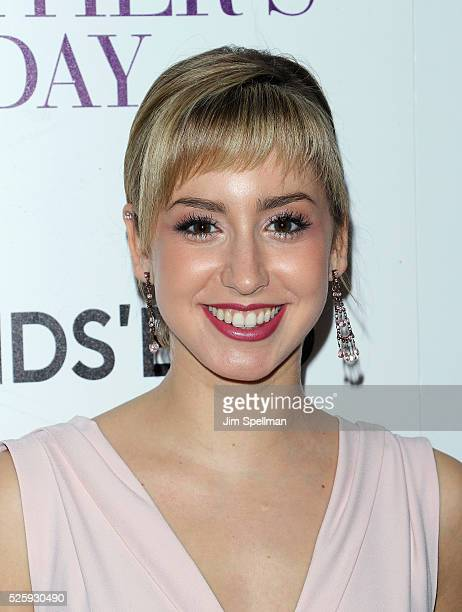 Jazmin Grace Grimaldi attends the screening of Open Road Films' 'Mother's Day' hosted by The Cinema Society with Lands' End at Metrograph on April 28...
