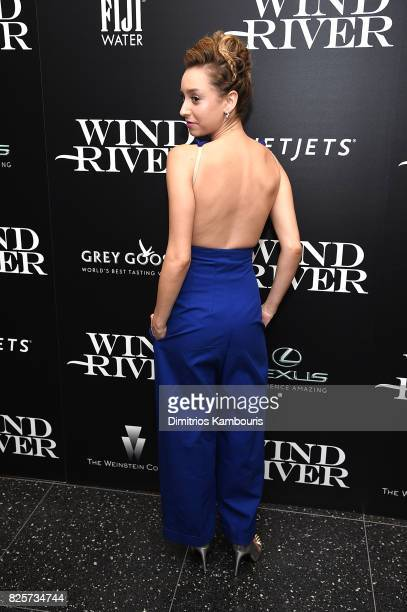 Jazmin Grace Grimaldi attends the Screening Of 'Wind River' at The Museum of Modern Art on August 2 2017 in New York City