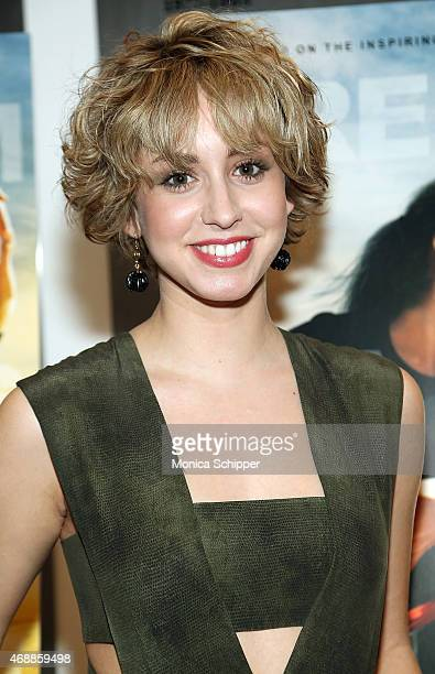 Jazmin Grace Grimaldi attends the special screening of Relativity Studio's 'Desert Dancer' at Museum of Modern Art on April 7 2015 in New York City