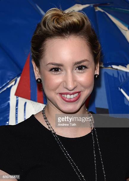 Jazmin Grace Grimaldi attends The Weinstein Company hosts the premiere Of 'Sing Street' after party at Hotel Indigo on April 12 2016 in New York City