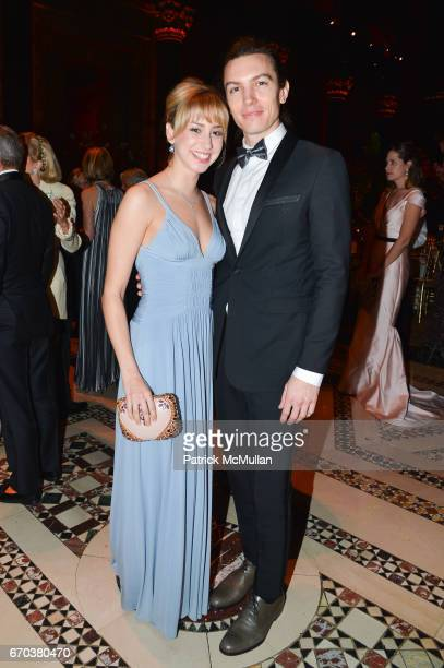 Jazmin Grimaldi and Ian Mellencamp attend LHNH honours Geoffrey Bradfield and John Manice at Cipriani 42nd Street on April 18 2017 in New York City
