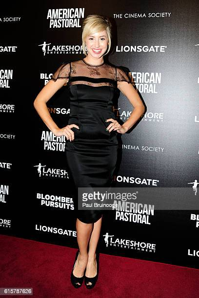 Jazmin Grimaldi attends Lionsgate and Lakeshore Entertainment with Bloomberg Pursuits Host a Screening of 'American Pastoral' at Museum of Modern Art...
