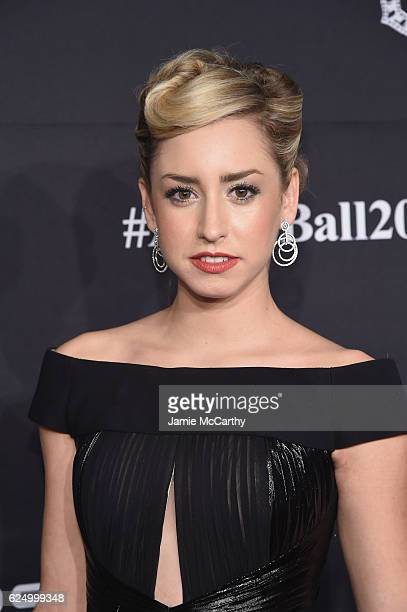 Jazmin Grimaldi attends the 2016 Angel Ball hosted by Gabrielle's Angel Foundation For Cancer Research on November 21 2016 in New York City