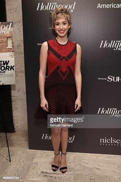 Jazmin Grimaldi attends 'The 35 Most Powerful People In Media' celebrated by The Hollywoood Reporter at Four Seasons Restaurant on April 8 2015 in...