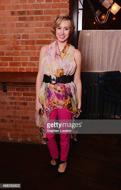 Jazmin Grimaldi attends the after party for the premiere of TV Land's 'Younger' at Chef's Club on March 31 2015 in New York City