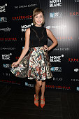Jazmin Grimaldi attends the party for the 53rd New York Film Festival's premiere of Magnolia Pictures' 'Experimenter' hosted by Montblanc and The...