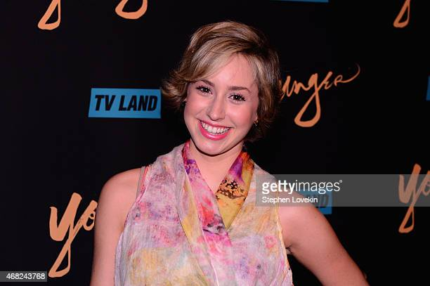 Jazmin Grimaldi attends the premiere of TV Land's 'Younger' at Landmark Sunshine Cinema on March 31 2015 in New York City