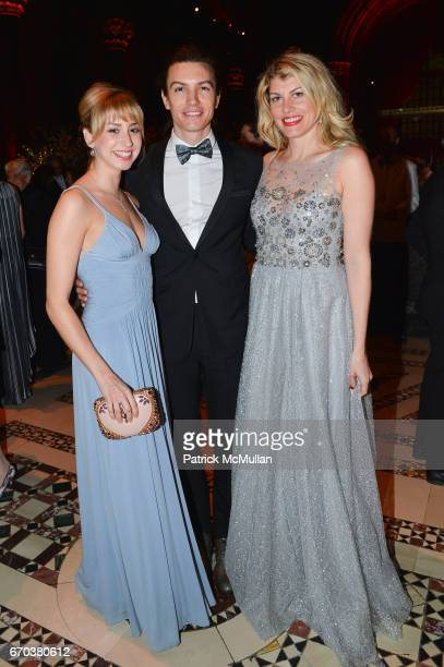 Jazmin Grimaldi Ian Mellencamp and Meredith Ostrom attend LHNH honours Geoffrey Bradfield and John Manice at Cipriani 42nd Street on April 18 2017 in...