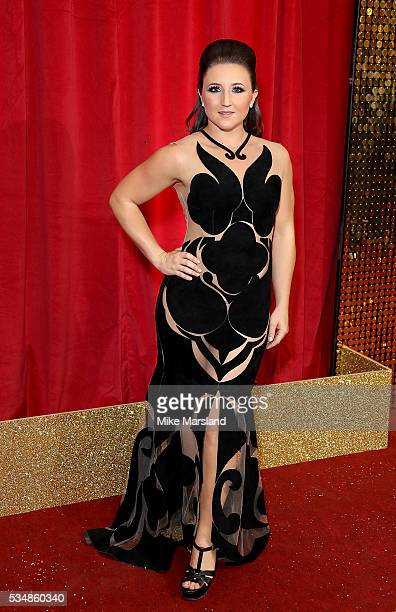 Jazmine Franks attends the British Soap Awards 2016 at Hackney Empire on May 28 2016 in London England