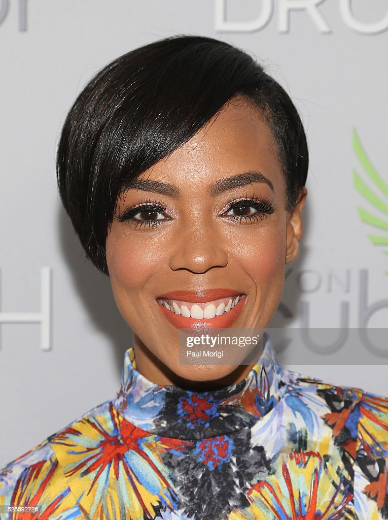 Jazmyn Simon attends the Garden Brunch prior to the 102nd White House Correspondents' Association Dinner at the Beall-Washington House on April 30, 2016 in Washington, DC.