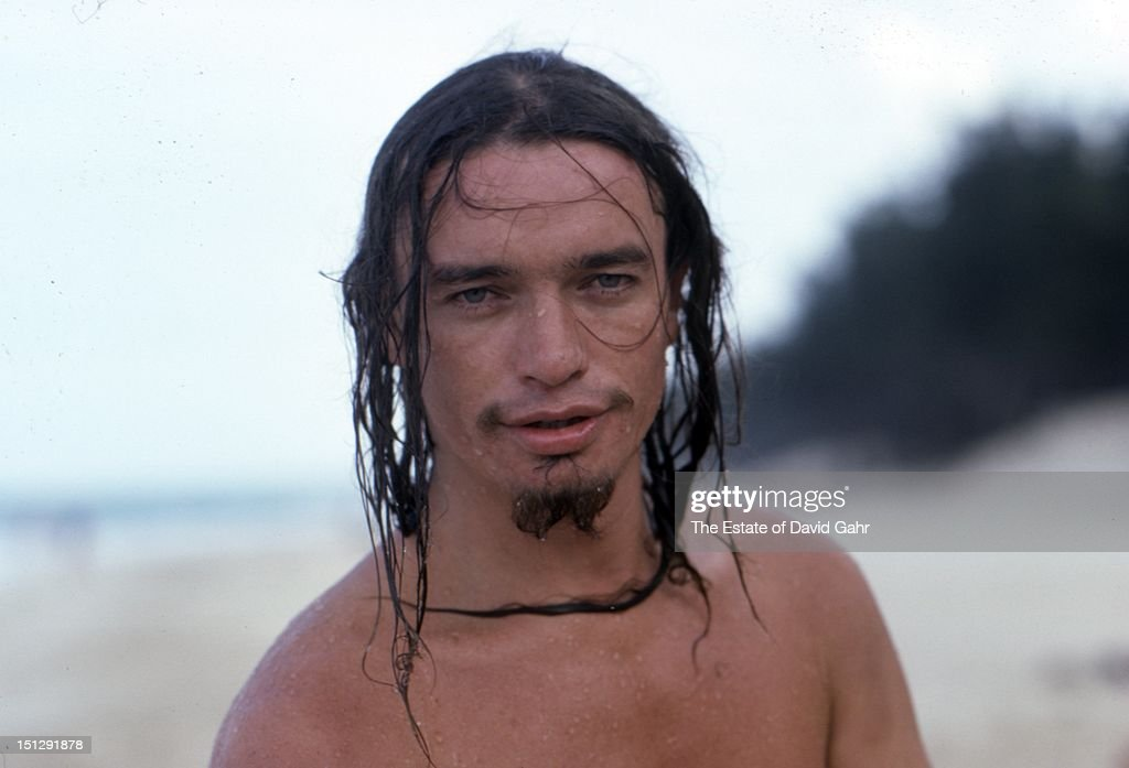 Jazz electric bassist Jaco Pastorius poses for a portrait on a beach near Havana before performing at Havana Jam, an historic three-day series of music concerts sponsored by the American music industry and the Cuban government in April, 1979 in Havana, Cuba.