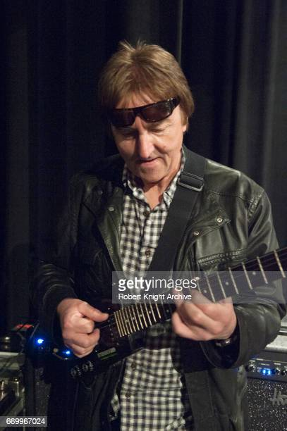 Jazz guitarist Allan Holdsworth performs on stage at the Wackerman Drum Fesvial Las Vegas United States 3rd April 2011