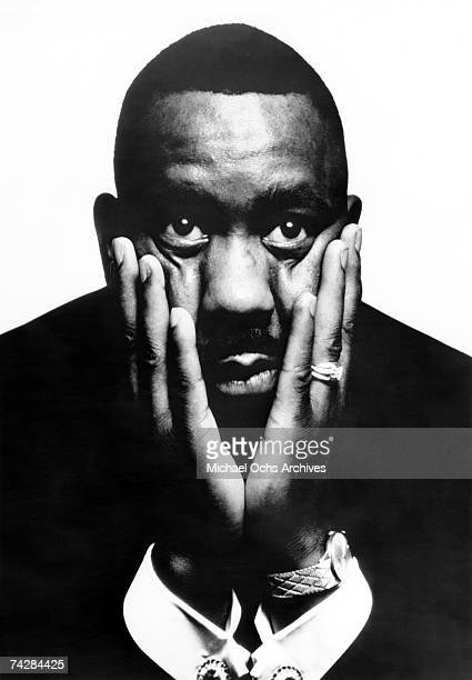 Jazz guitarist Wes Montgomery poses for a portrait during his time on AM Records in circa 1968