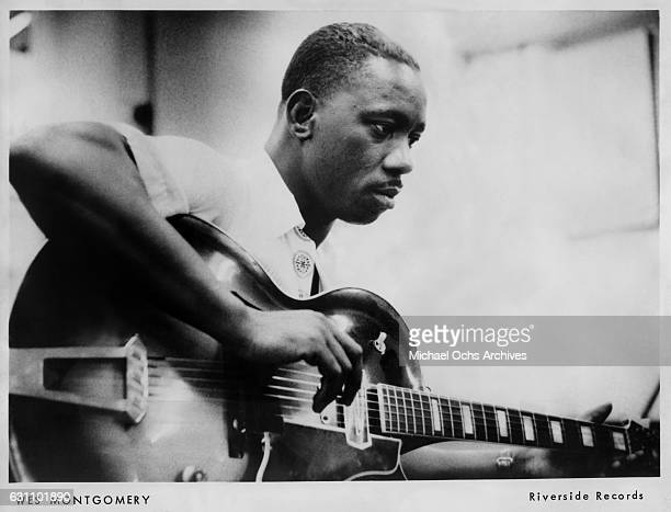 Jazz guitarist Wes Montgomery poses for a Riverside Records publicty still circa 1960