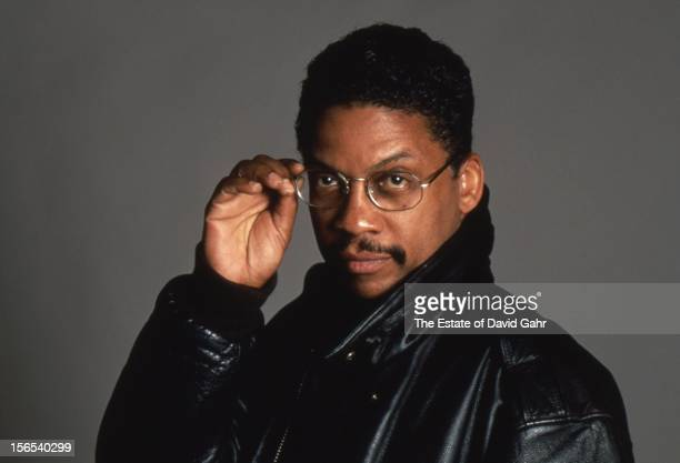 Jazz keyboardist and composer Herbie Hancock poses for a portrait June 1995 iin New York City New York