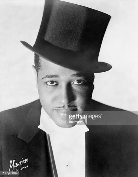Jazz musician and composer Duke Ellington poses for a studio portrait before his first European tour