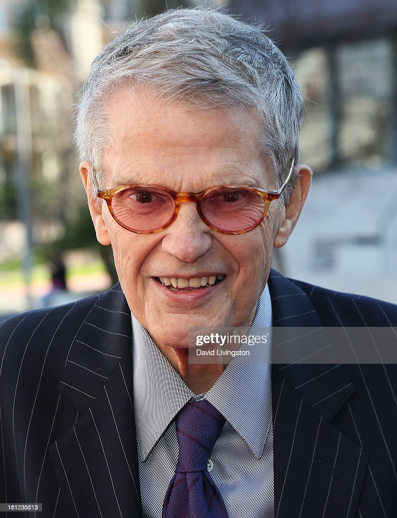 Jazz musician <a gi-track='captionPersonalityLinkClicked' href=/galleries/search?phrase=Charlie+Haden&family=editorial&specificpeople=2312156 ng-click='$event.stopPropagation()'>Charlie Haden</a> attends The Recording Academy Special Merit Awards Ceremony at the Wilshire Ebell Theatre on February 9, 2013 in Los Angeles, California.