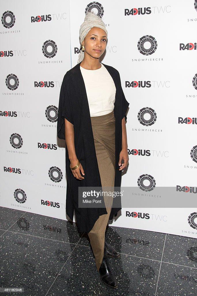 Jazz Musician Esperanza Spalding attends the 'Snowpiercer' premiere at The Museum of Modern Art on June 24, 2014 in New York City.