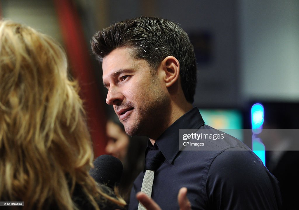 Jazz musician <a gi-track='captionPersonalityLinkClicked' href=/galleries/search?phrase=Matt+Dusk&family=editorial&specificpeople=2499967 ng-click='$event.stopPropagation()'>Matt Dusk</a> attends the premiere screening of Entertainment One's 'Born To Be Blue' at TIFF Bell Lightbox on February 29, 2016 in Toronto, Canada.