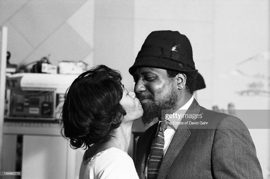 Jazz musician Thelonious Monk and his wife Nellie pose for a portrait in November 1963 in New York City New York