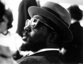 Jazz musician Thelonious Monk at the United Nations in 1960 in New York