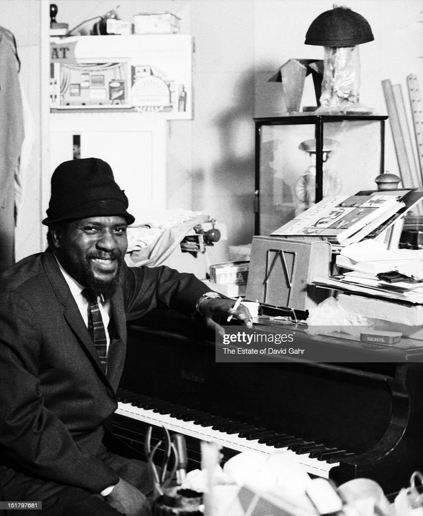 Jazz musician Thelonious Monk poses for a portrait at home in November, 1963 in New York City, New York.