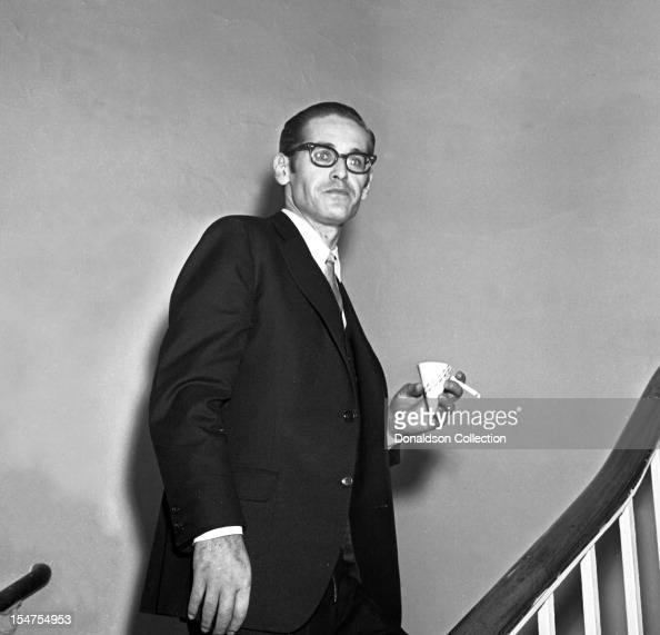 Jazz pianist and composer Bill Evans backstage of his concert at Town Hall on February 21 1966 in New York New York