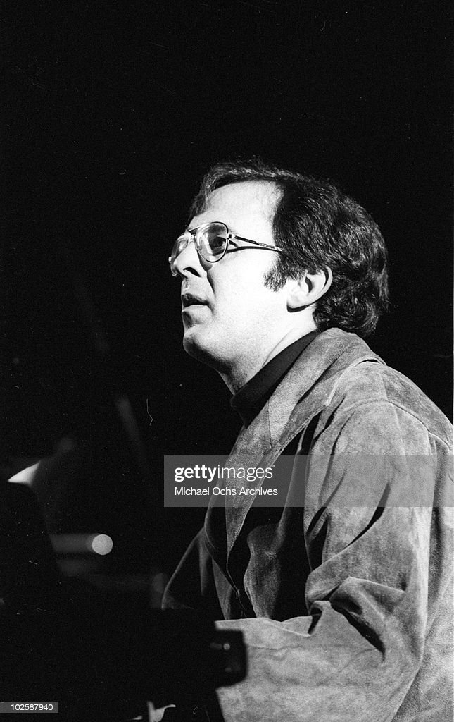 Jazz pianist Bob James performs onstage in 1977.