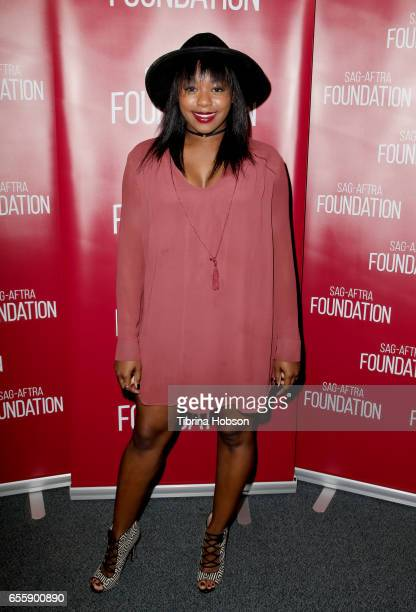 Jazz Raycole attends SAGAFTRA Foundation's Conversations with 'The Quad' at SAGAFTRA Foundation Screening Room on March 20 2017 in Los Angeles...
