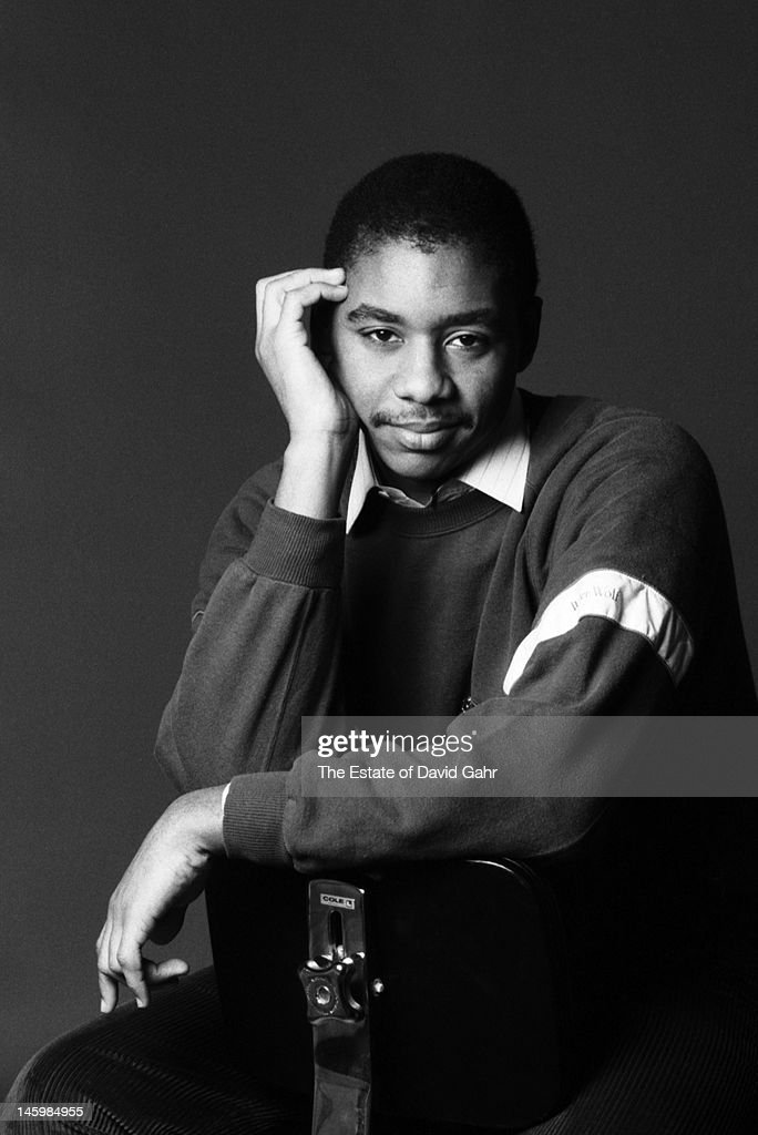 Jazz saxophonist, composer and bandleader <a gi-track='captionPersonalityLinkClicked' href=/galleries/search?phrase=Branford+Marsalis&family=editorial&specificpeople=212811 ng-click='$event.stopPropagation()'>Branford Marsalis</a> poses for a portrait on January 4, 1985 in New York City, New York.