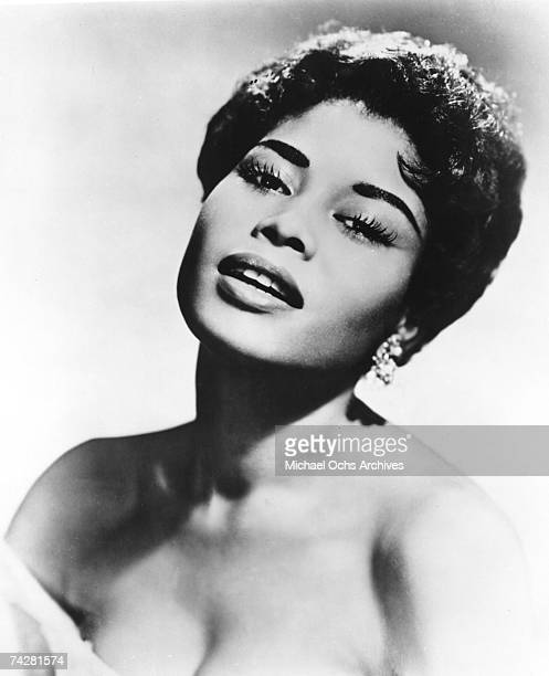 Jazz singer and actress Abbey Lincoln poses for a portrait circa 1956 in New York City New York
