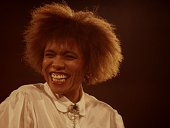 Jazz Singer Dee Dee Bridgewater performing in 1987