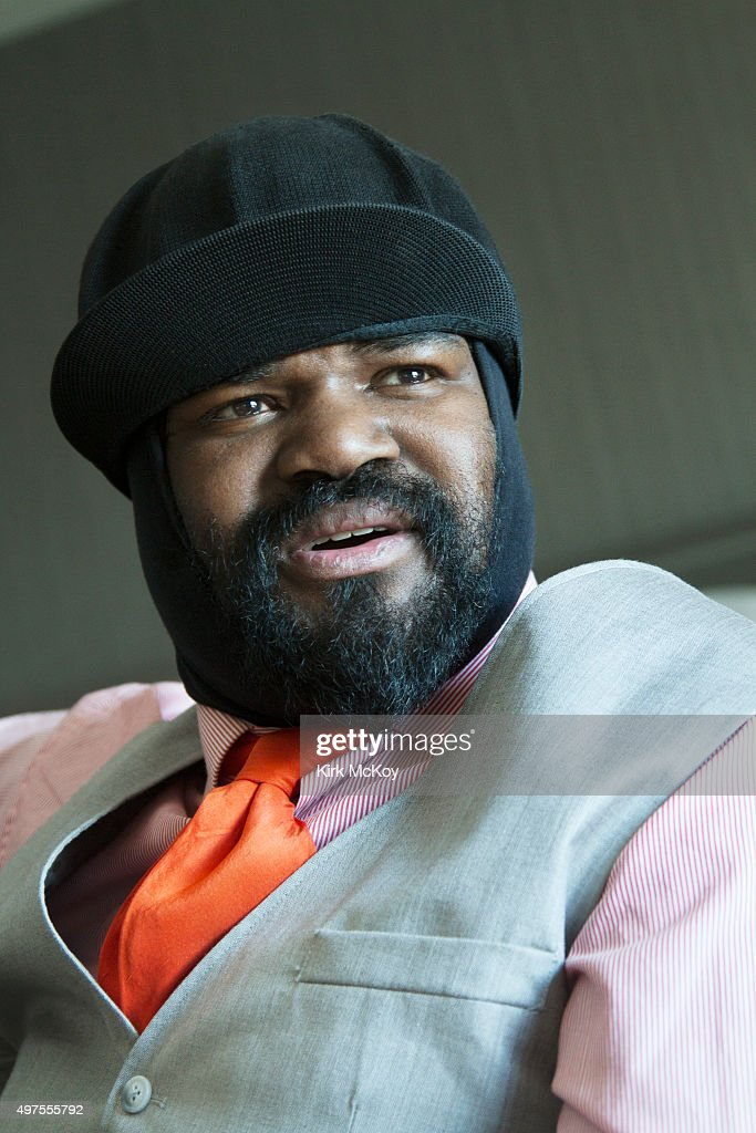 Jazz singer <a gi-track='captionPersonalityLinkClicked' href=/galleries/search?phrase=Gregory+Porter&family=editorial&specificpeople=7494861 ng-click='$event.stopPropagation()'>Gregory Porter</a> is photographed for Los Angeles Times on January 16, 2014 in Los Angeles, California. PUBLISHED IMAGE.