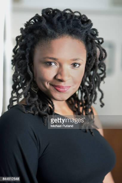 Jazz singer Lizz Wright portrait Royal Festival Hall London 11th November 2016