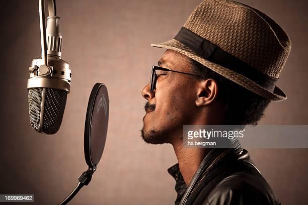 Aufzeichnung Gesang Jazz Singer