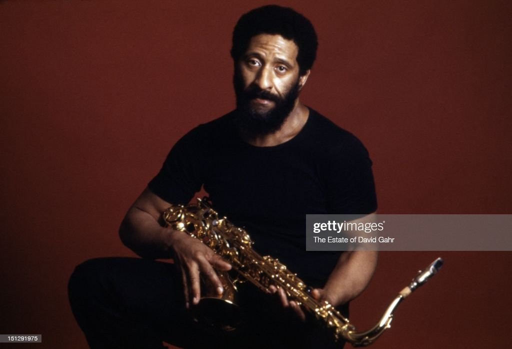 Jazz tenor saxophonist and composer Sonny Rollins poses for a portrait with his saxophone in January, 1978 in New York City, New York.