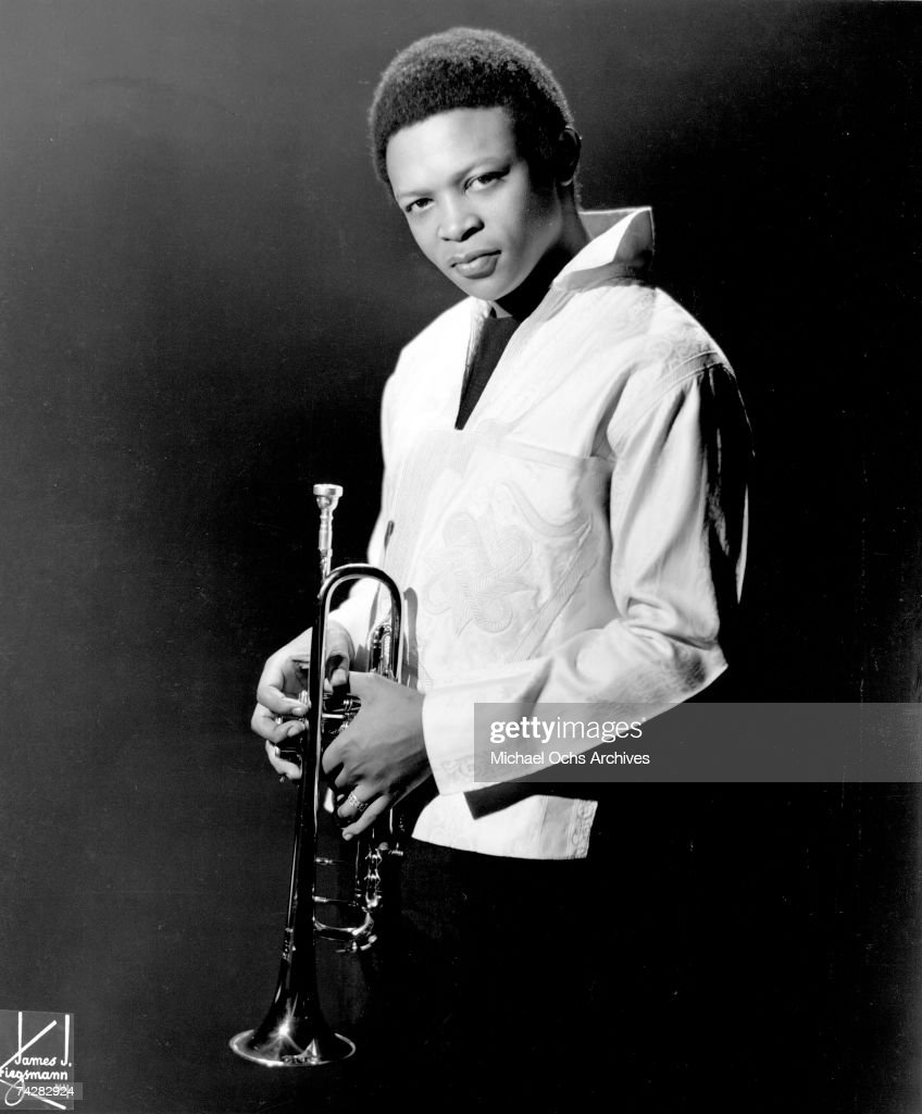 Jazz trumpeter Hugh Masekela poses for a portrait in circa 1967 in New York City, New York.
