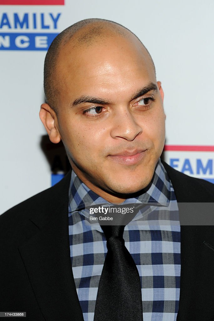 Jazz trumpeter Irvin Mayfield attends New Orleans To New York City Benefit Gala at Donna Karen's Stephen Weiss Studio on July 25, 2013 in New York City.