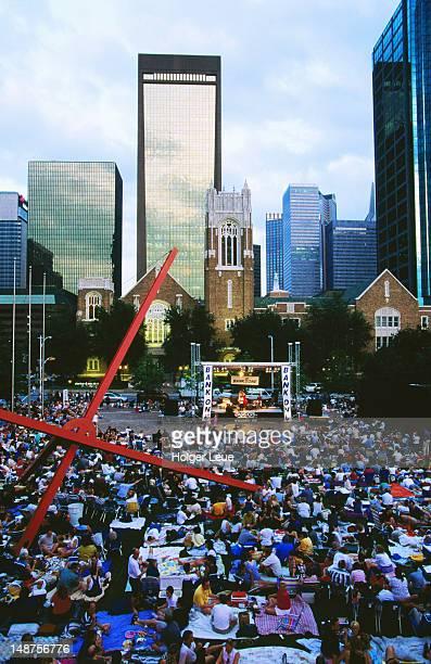 Jazz Under the Stars outdoor concert, Dallas Museum of Art