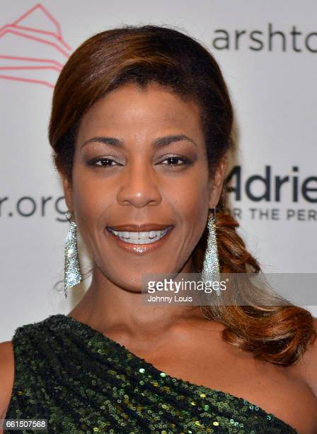 Jazz Vocalist Nicole Henry attends the 11th Season Gala ConcertA Celebration of Women in the Arts at The Adrienne Arsht Center for the Performing...