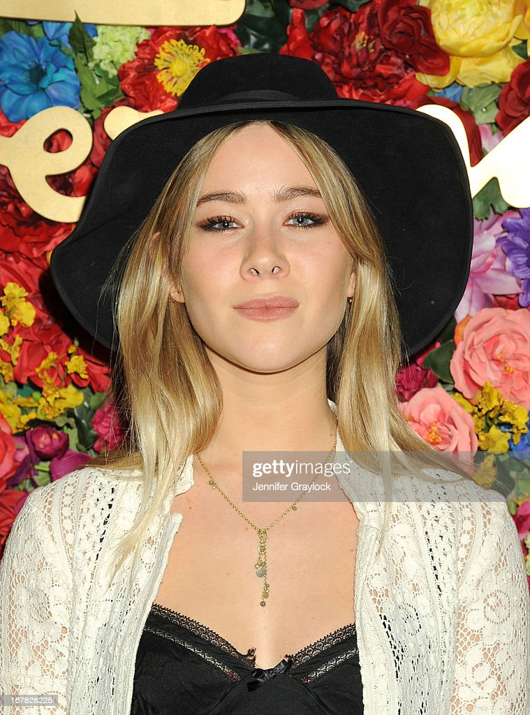 Jazzy de Lisser attends the Ferragamo Celebrates The Launch Of L'Icona Highlighting The 35th Anniversary Of Vara at The McKittrick Hotel, Home of Sleep No More on April 30, 2013 in New York City.