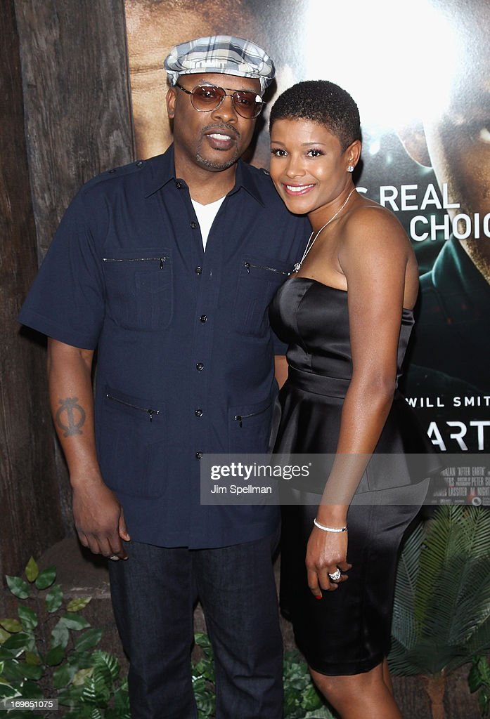 DJ <a gi-track='captionPersonalityLinkClicked' href=/galleries/search?phrase=Jazzy+Jeff&family=editorial&specificpeople=227883 ng-click='$event.stopPropagation()'>Jazzy Jeff</a> and Lynette Jackson attend the 'After Earth' premiere at the Ziegfeld Theater on May 29, 2013 in New York City.