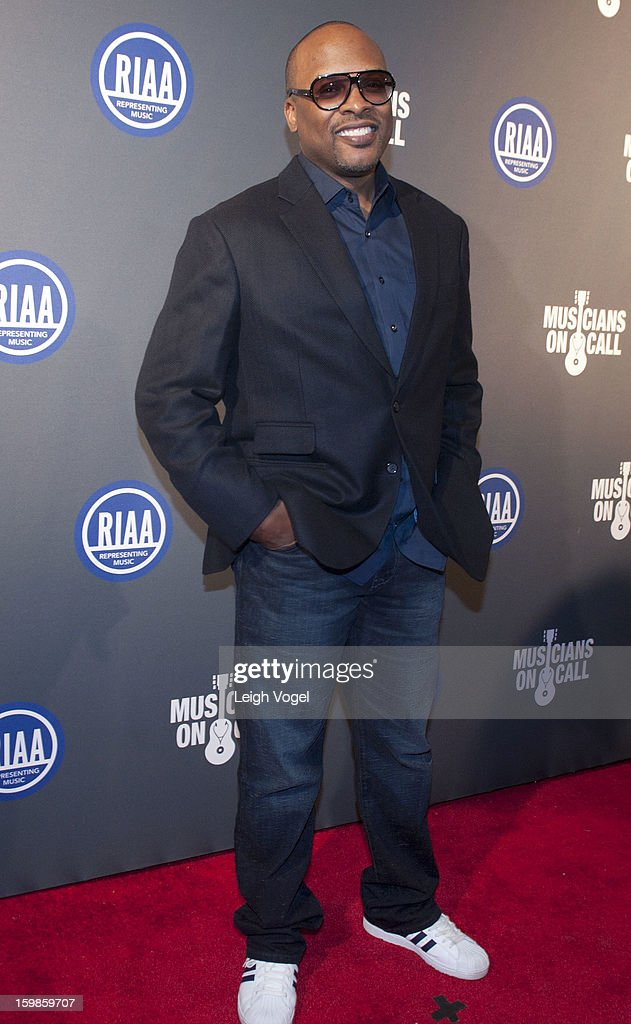 DJ Jazzy Jeff attends the RIAA Presidential Inaugural Charity Benefit at the 9:30 Club on January 21, 2013 in Washington, United States.