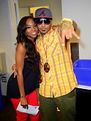 Jazzy McBee and ET attend 1079 Birthday Bash 17 at Philips Arena on June 16 2012 in Atlanta Georgia