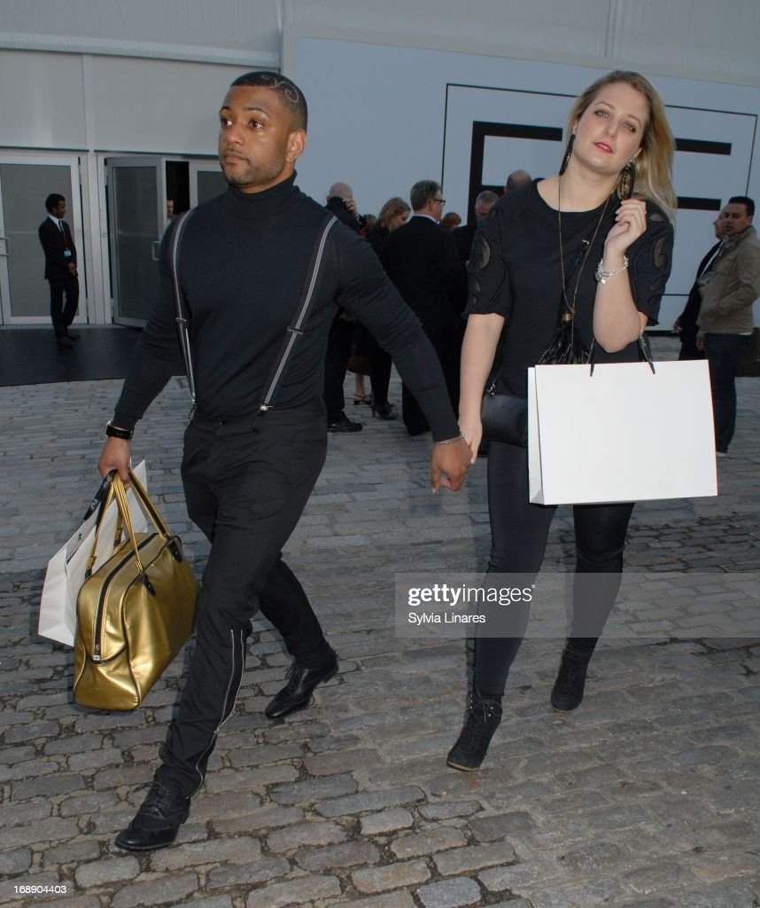 Jb Gill leaving Somerset House on May 16, 2013 in London, England.