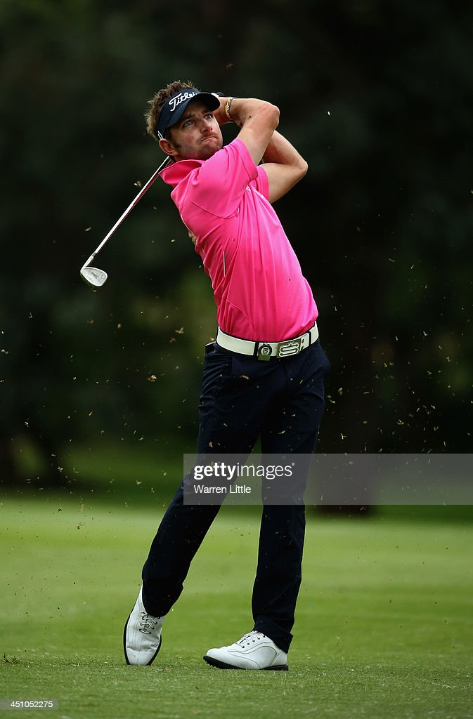 Jbe Kruger of South Africa in action during the first round of the South African Open Championship at Glendower Golf Club on November 21, 2013 in Johannesburg, South Africa.